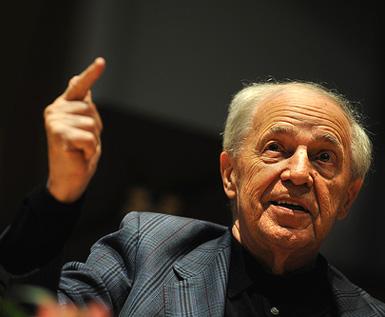 le compositeur, chef d'orchestre et penseur Pierre Boulez fêté à Saint-Étienne
