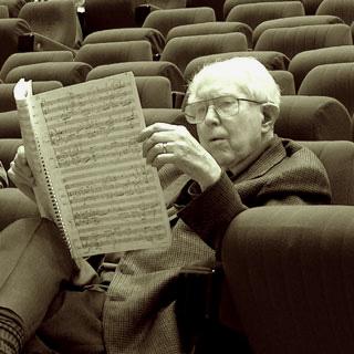 à 97 ans, le compositeur Elliott Carter est l'invité du festival de Caen