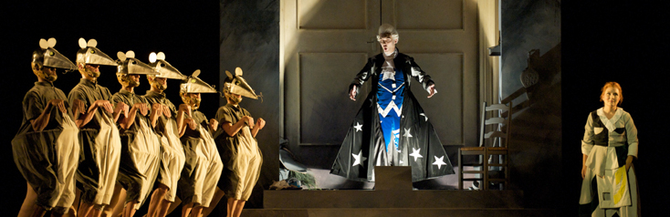 Séastien Forthomme photographie Cenerentola (Rossini) à La Monnaie de Bruxelles