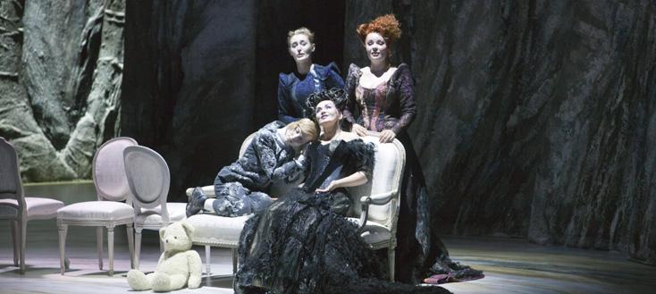 Andrea Messana photographie La cerisaie, nouvel opéra de Fénelon, à Garnier