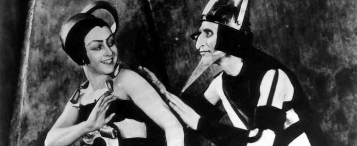 Aelita, film de Yakov Protazanov (1924) et musique de Dmitri Kourliandski (2010)