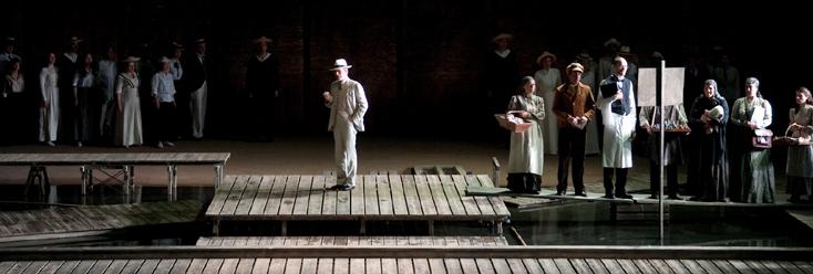 Death in Venice, opéra de Britten d'après Thomas Mann, à Lyon
