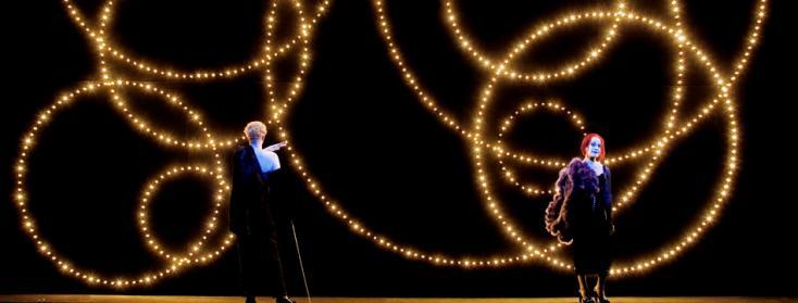 Bob Wilson met en scène Die Dreigroschenoper, opéra de Kurt Weill