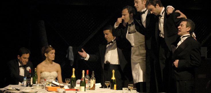 Opéra de Quat'sous réussi à Tourcoing, mis en scène par Christian Schiaretti