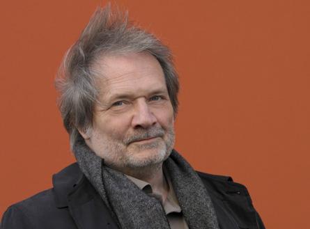 le compositeur hongrois Péter Eötvös par Priska Keterrer
