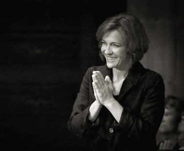 Laurence Equilbey photographiée par Jean-Louis Bergamo
