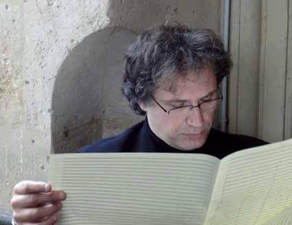 le compositeur français Thierry Escaich photographié par Claire Delamarche