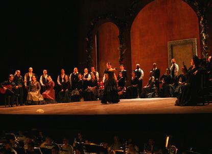 l'opéra de Falla, La vida breve, à l'Opéra de Nice