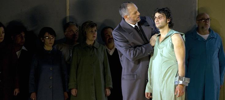 Fidelio (Beethoven) mis en scène par Johan Simons à l'Opéra de Paris