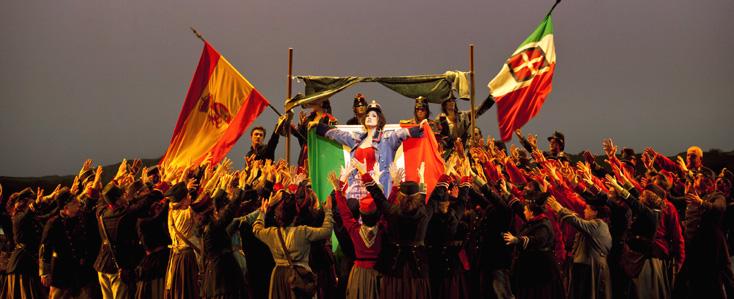 La forza del destino (Verdi) photographié par Andrea Massana à Bastille