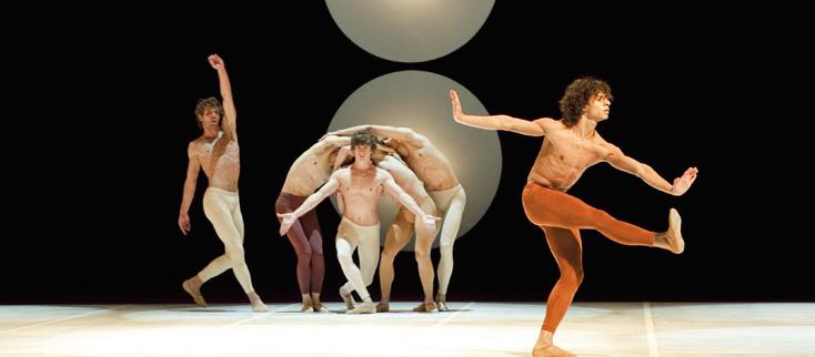 quatre chorégraphies de Maurice Béjart par le Béjart Ballet Lausanne