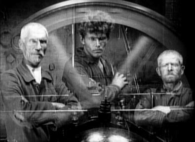La grève, film d'Eisenstein pour lequel Pierre Jodlowski conçut une partition