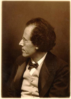 le compositeur Gustav Mahler (1860-1911)