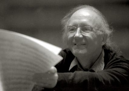 le compositeur, hautboïste et chef d'orchestre suisse Heinz Holliger