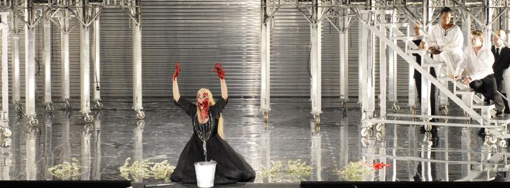 Idomeneo (Mozart) à aix, photographié par Elisabeth Carrechio