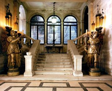 Hall du Palazzo Mocenigo à Venise