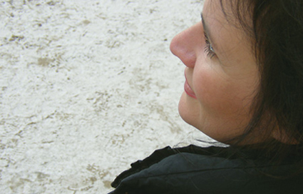 la compositrice italienne Lara Morciano photographiée par Bertrand Bolognesi