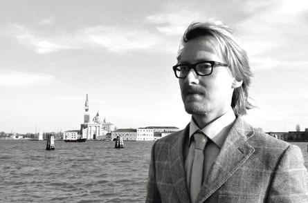 Olivier Lexa, créateur du Venetian Centre for Baroque Music