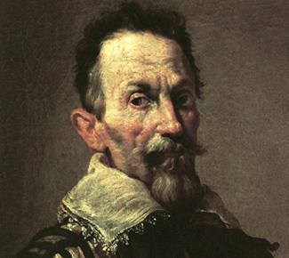 protrait de Claudio Monteverdi conservé à l'Accademia de Venise