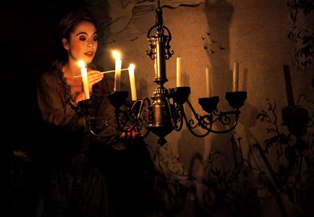 l'ambiance festive et poétique du spectacle baroque turc Müzennâ