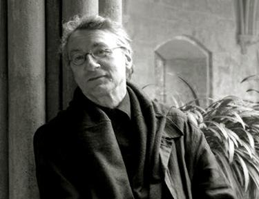 le compositeur français Jacques Lenot photographié par Jérôme Johnson