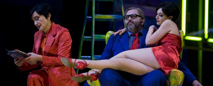 Lulu, opéra d'Alban Berg, au Grand Théâtre de Genève