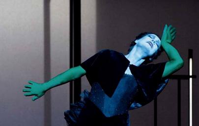 Lulu, spectacle de Robert Wilson et Lou Reed, au Festival d'Automne à Paris