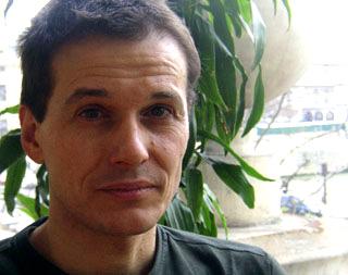 le compositeur Marco Stroppa photographié et interviewé par Bertrand Bolognesi