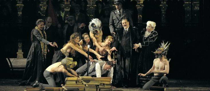 Olivier Py met en scène Mathis der Maler d'Hindemith à l'Opéra Bastille