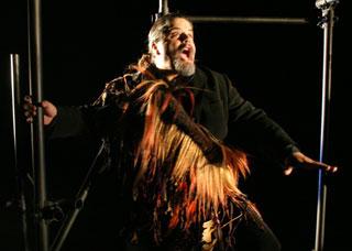 Les ailes du vent, un spectacle d'après Chants Indiens de Stockhausen