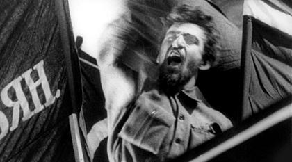 Октябрь (Octobre), film d'Eisenstein et musique de Chostakovitch
