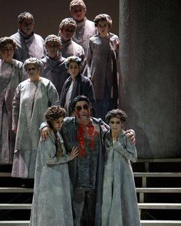 Patrice Nin photographie Œdipe, opéra d'Enescu, à Toulouse