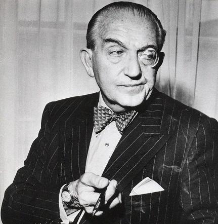 """Fritz Lang (1890-1976), dont nous verrons """"Doctor Mabuse der Spieler"""" (1922)"""