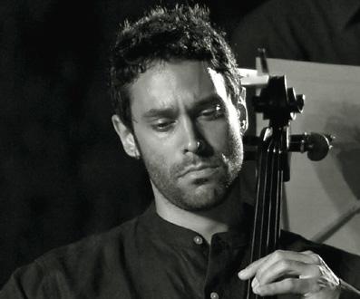 le violoncelliste italien Patrizio Serino