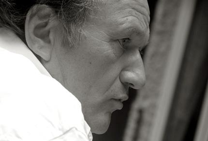 le compositeur Philippe Hurel photographié par Nicolas Botti