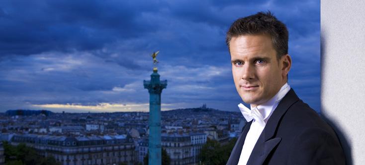 le chef d'orchestre Philippe Jordan par Johannes Ifkovits, Place de la Bastille