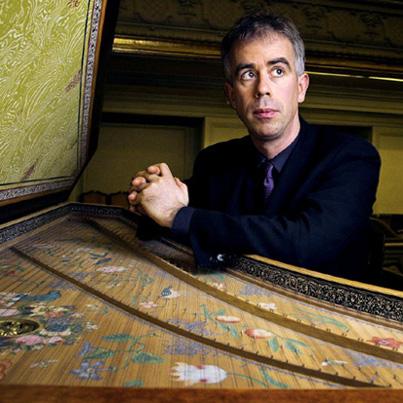 le claveciniste Pierre Hantaï photographié par Philippe Matsas