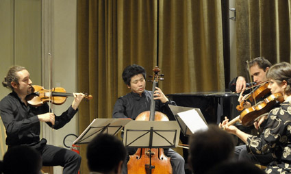 le Quatuor Cambini à la Fondation Bru Zane, à Venise