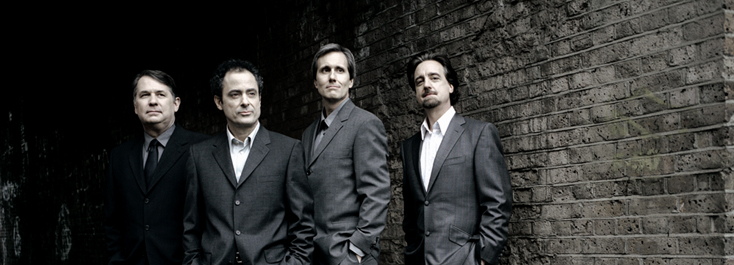 le Quatuor Emerson photographié par Mitch Jenkins