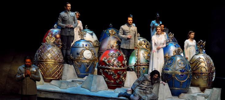 Raspoutine, un opéra de Jay Reise (1988), vu à Massy