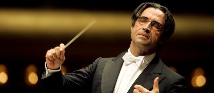 le chef italien Riccardo Muti photographié par Chris Lee