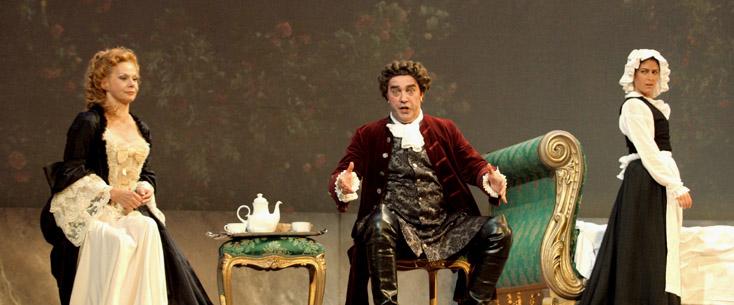 Der Rosenkavalier (Strauss) à Marseille, mis en scène par Dieter Kaegi