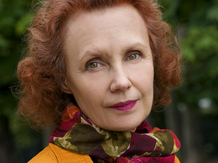 la compositrice finlandaise Kaija Saariaho photographie par Priska Ketterer