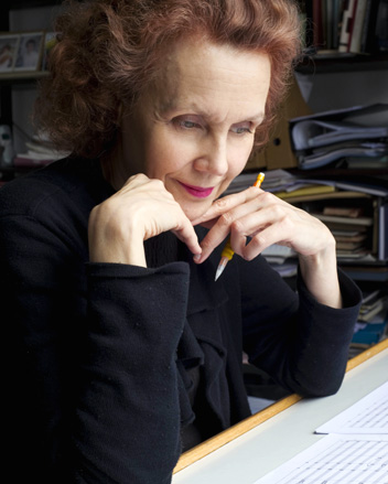 Kaija Saariaho (photo Priska Ketterer) rencontre Bertrand Bolognesi (Anaclase)