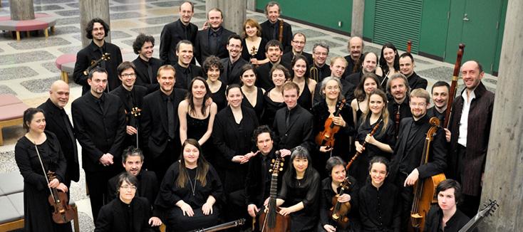 Le Concert Spirituel dans Messe à quarante voix d'Alessandro Striggio