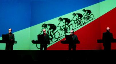 concert Kraftwerk à l'Acelor Mittal