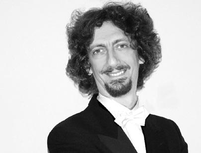 le chef italien Federico Maria Sardelli photographié par Enrico Amante