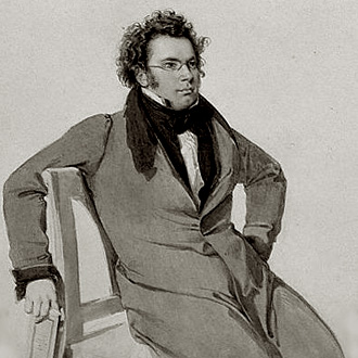 Le compositeur viennois Franz Schubert