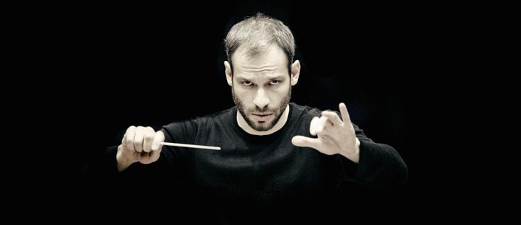 le chef Dima Solobeniouk photographié par Marco Borggreve