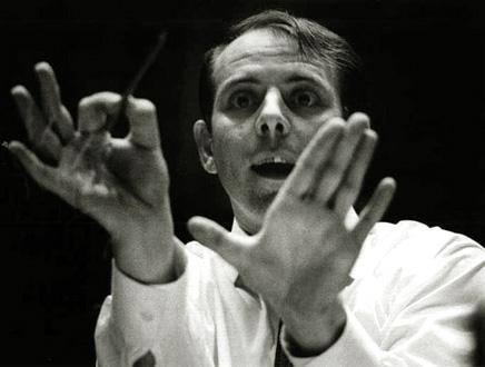 le compositeur allemand Karlheinz Stockhausen